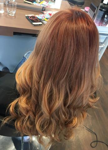 Haarfarbe chemische reaktion