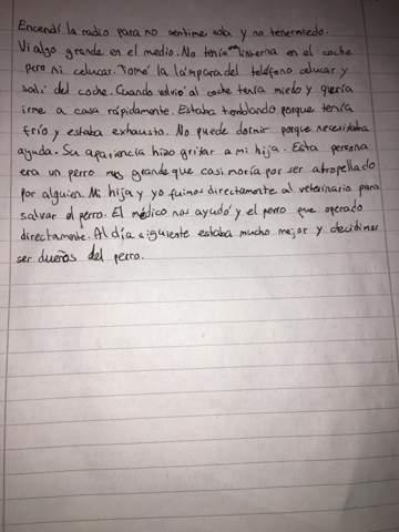 Ist meine Spanischgeschichte fehlerfrei?