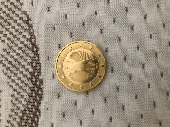 Ist Meine Vergoldete 2 Euro Münze Wertvoll Gold Münze