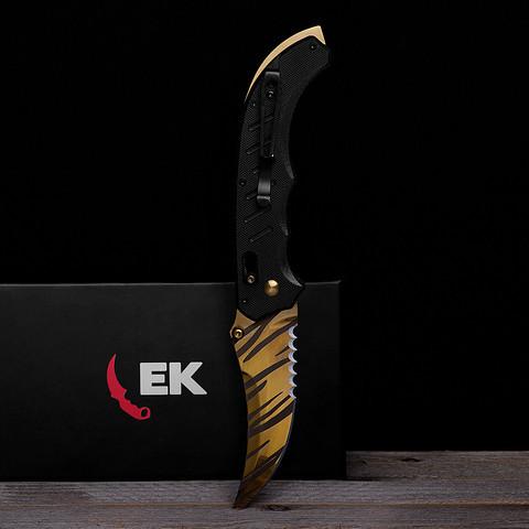 Flip Knife Tiger Tooth - (Bestellung, legal, Zoll)