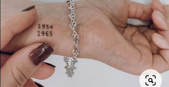 Ist so ein Tattoo nicht gut fürs Stechen?