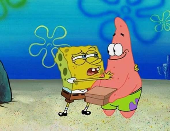 Ist Spongebob naiv?