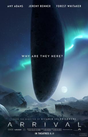 The Arrival (10. November 2016) Quelle: imdb.com - (Film, Buch, Fantasy)