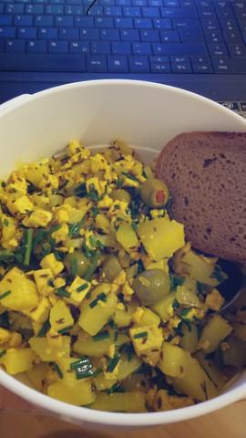 Vegane Eierspeise - (gesund, tofu, eierspeise)