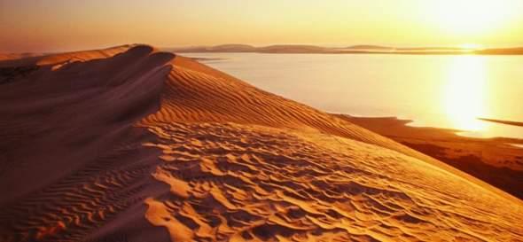Ist Wasser in der Wüste Salzwasser, oder Süßwasser?
