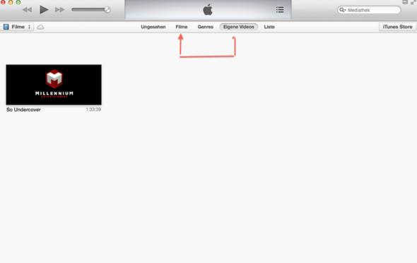 Bild - (iTunes, Bewegen)
