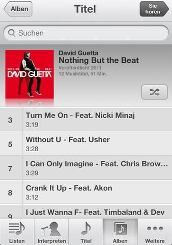 Gekauftes Album - (Musik, Apple, Download)