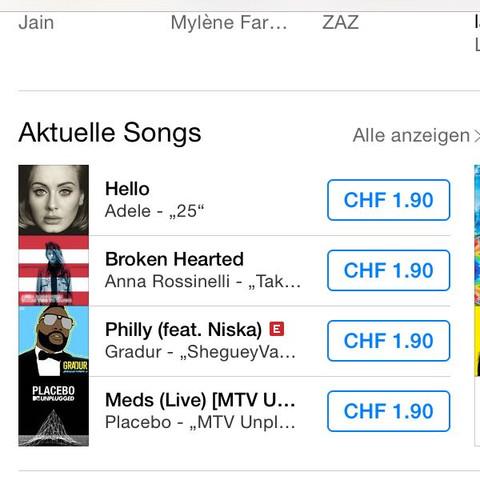 iTunes (schweiz) - (iPhone, deutsch, iTunes)