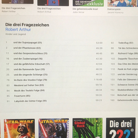 Itunes - (Apple, iTunes, Hörbuch)