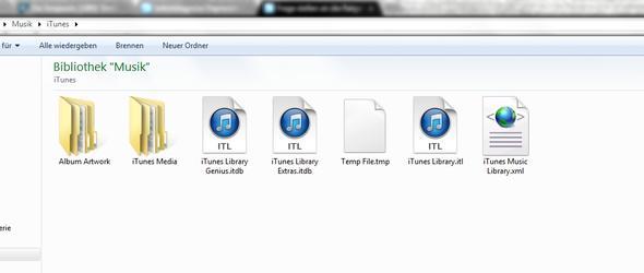 C:\Users\Administrator\Music\iTunes - (iTunes, Datei, Daten)