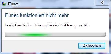 iTunes funktioniert nicht mehr - (PC, Technik, iPhone)