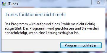iTunes funktioniert nicht mehr 2 - (PC, Technik, iPhone)