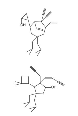 Hier die Moleküle - (Schule, Chemie)