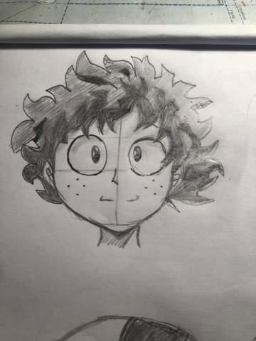 Izuku aus my hero academia Zeichnung, Meinung?