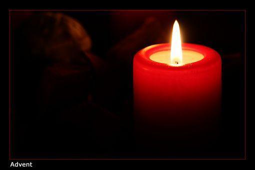 erste Kerze - (Familie, Religion, Weihnachten)