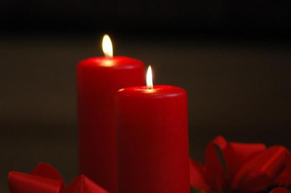 zweite Kerze - (Familie, Religion, Weihnachten)