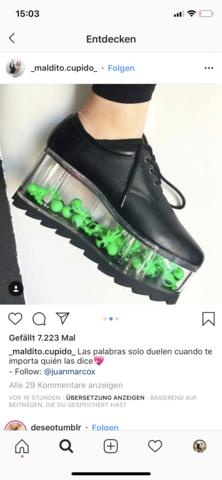 Weiss jemand, wo es diese Schuhe gibt?