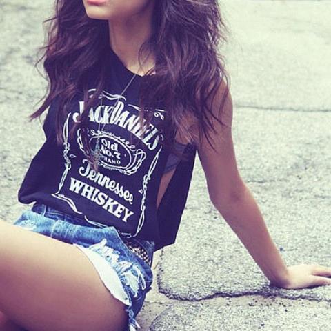 so ungefähr  - (Klamotten, Top, Jack Daniels)