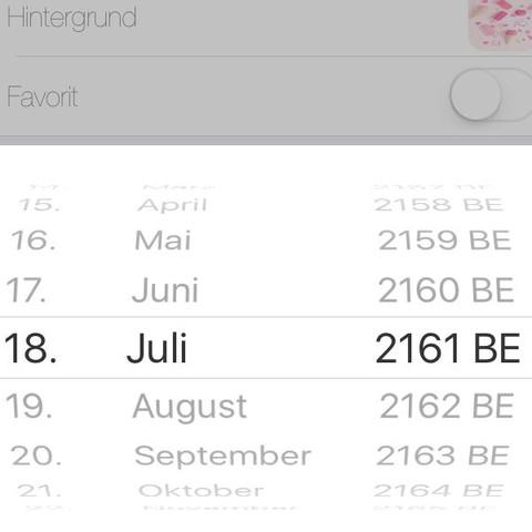 Rechts seht ihr die Jahreszahl  - (Handy, Jahreszahlen)