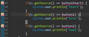 Java JButton und ActionListener in zwei verschiedenen Klassen?