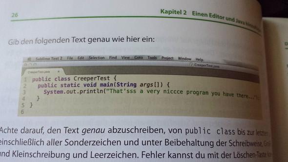 Code im Buch - (programmieren, Java, Plug-in)