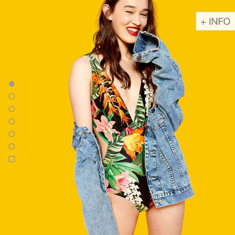 Mittlere Jeansfarbe - (Werbung, zara, Jeansjacke)