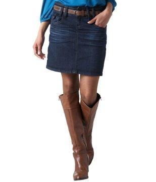 online store 3e4e8 f83fa Jeansrock kombinieren - womit? (Mode, Kleidung, Klamotten)