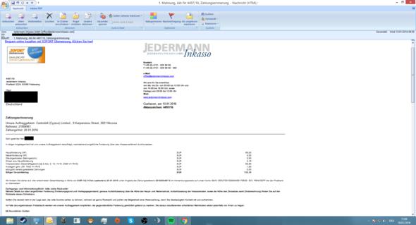 1. Teil - (E-Mail, Betrug, Kündigungsfrist)
