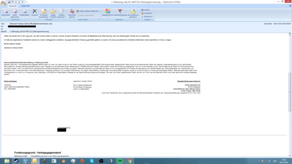 2. Teil - (E-Mail, Betrug, Kündigungsfrist)