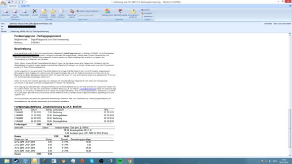 3. Teil - (E-Mail, Betrug, Kündigungsfrist)