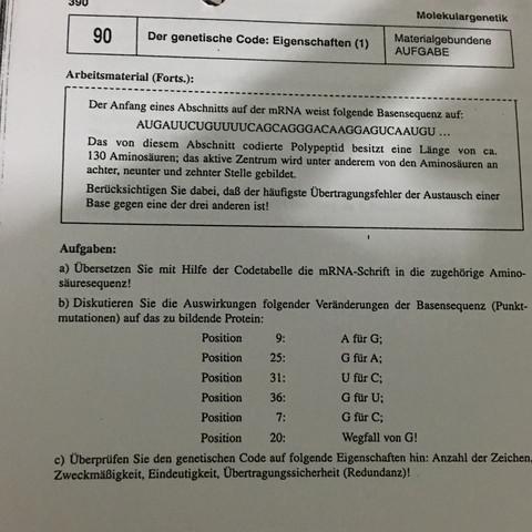 Atemberaubend Genmutationen Arbeitsblatt Zeitgenössisch - Mathe ...