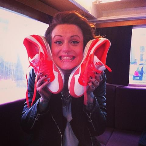 Jennifer Weist Nikes  - (Schuhe, Jennifer Weist)