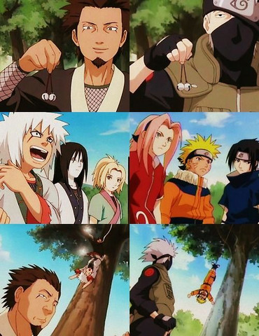 Ich sagte ja das die sich ähneln  - (Naruto, Jiraja)