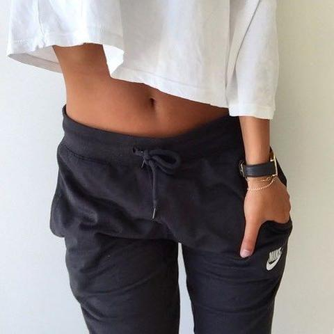 Girl baggy sweatpants