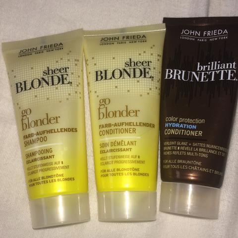 Hatte auch das Shampoo von brillant Brünette ist aber schon leer  - (Haare, färben, rot)