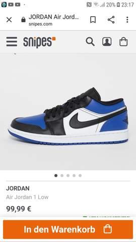 Jordan 1 low blue?