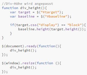 jQuery-Script - (programmieren, Website, html)