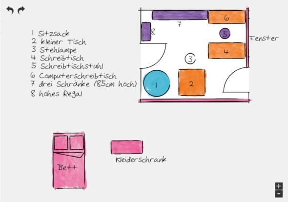 mein Zimmer - (Ideen, Heizung, Möbel)
