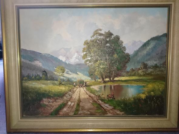 Bild - (Kunst, Malerei, Gemälde)