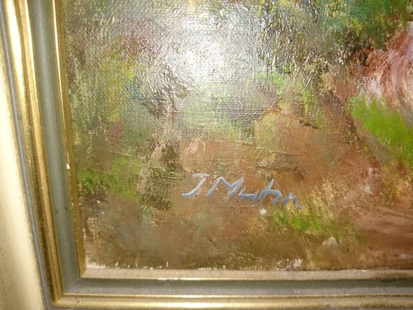 Signatur - (Kunst, Malerei, Gemälde)