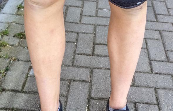 Beine rasieren mann