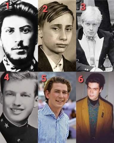Young politician photos?