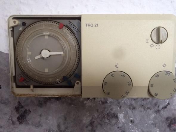 Junkers TRQ Temperaturregler, wie einstellen?