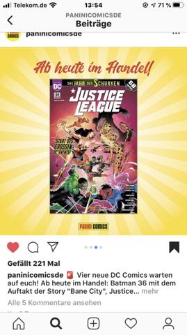 Justice League Nr.14 Einstieg?