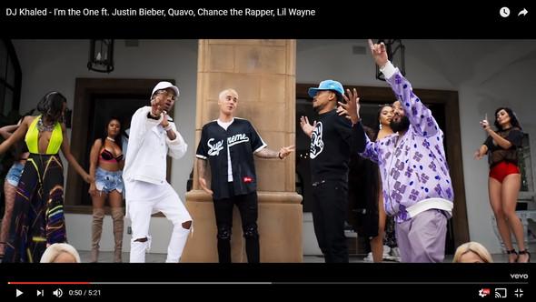 Justin Bieber- I'm the One -Supreme - (Fashion, Justin Bieber, Supreme)