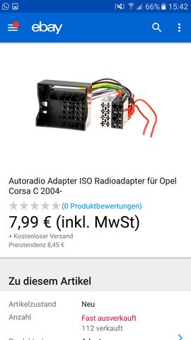 jvc radio in opel corsa c 2005 einbauen ? (Auto, KFZ, Werkstatt)