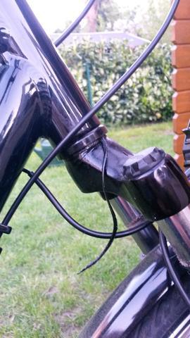 Was für ein Kabel ist hier abgerissen? raus? - (Fahrrad, defekt)