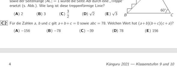 Känguru der Mathematik?