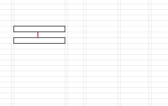 Kästchen verbinden Excel (Computer, Programm)