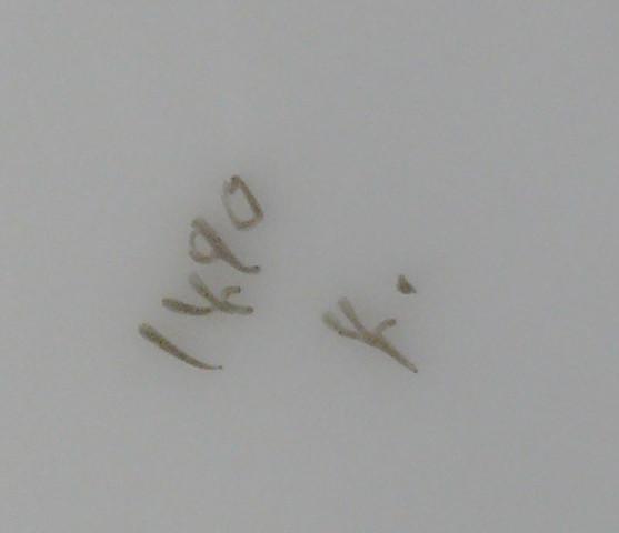 Kaffeekanne Unterseite - (Porzellan, Porzellanmarke, Porzellanlstil)